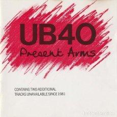 CDs de Música: UB40 - PRESENT ARMS. Lote 228793760