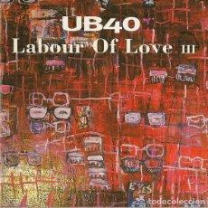 CD de Música: UB40 - LABOUR OF LOVE III. Lote 228794626