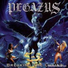 CDs de Musique: PEGAZUS - BREAKING THE CHAINS CD DIGIPACK 1999 NUCLEAR BLAST - METAL. Lote 228839445