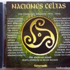 CDs de Música: NACIONES CELTAS BUSCANDO EL NORTE. TRI YANN, CAPERCAILLE, ALAN STIVELL,CLANNAD,EMILIO CAO...DOBLE CD. Lote 228847510