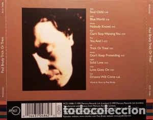 CDs de Música: Paul Brady - Trick or Treat - Foto 2 - 228848755