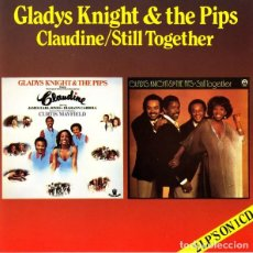 CDs de Música: GLADYS KNIGHT & THE PIPS - CLAUDINE + STILL TOGETHER. Lote 228961365