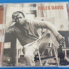 CDs de Música: CD DOBLE 2 CD'S / THE ESSENTIAL MILES DAVIS / COLUMBIA – COL503045 2, LEGACY 2001. Lote 228983765