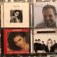 CDs de Música: LOTE 4 CDS NACIONALES - BOSE - ANA BELÉN - ANTONIO FLORES. Lote 228986915
