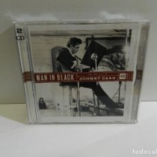 CDs de Música: DISCO CD. JOHNNY CASH – MAN IN BLACK - THE VERY BEST OF JOHNNY CASH. COMPACT DISC. DOBLE.. Lote 229076055