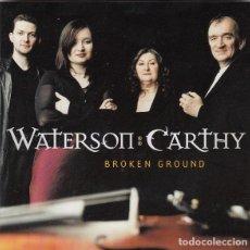 CD di Musica: WATERSON CARTHY - BROKEN GROUND. Lote 229098215