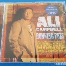 CDs de Música: CD / ALI CAMPBELL – RUNNING FREE / BLANCO Y NEGRO – MXCD 1745 (CS) 2007 COMO NUEVO. Lote 229105150