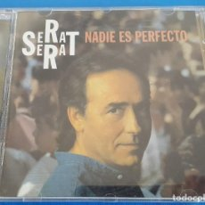 CDs de Música: CD / JOAN MANUEL SERRAT – NADIE ES PERFECTO / ARIOLA – 74321 224451 1994 COMO NUEVO. Lote 229107345