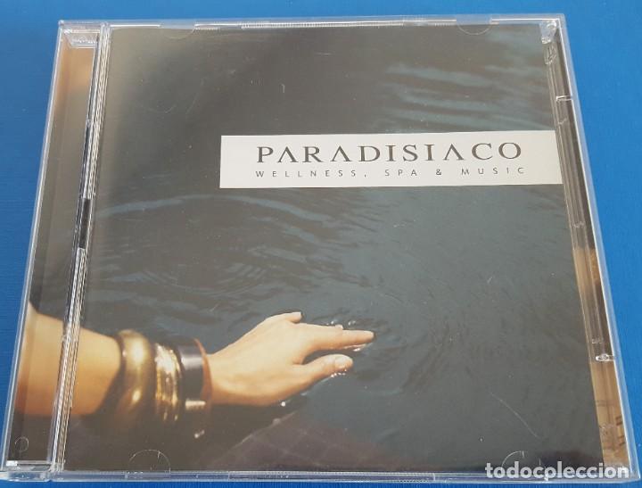 CD DOBLE 2 CD'S / PARADISIACO - WELLNESS, SPA & MUSIC / BLANCO Y NEGRO – MXCD 1840 2008 COMO NUEVO (Música - CD's New age)