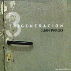 CDs de Música: JUAN PARDO - TRIGENERACIÓN. Lote 229142775