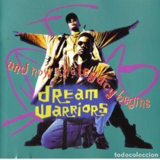 CDs de Música: DREAM WARRIORS - AND NOW THE LEGACY BEGINS. Lote 229239500