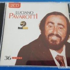 CDs de Música: CD DOBLE 2 CD'S / LUCIANO PAVAROTTI / REAL GOLD RG2017 / 2003 COMO NUEVOS. Lote 229302420