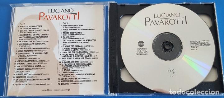 CDs de Música: CD DOBLE 2 CDS / LUCIANO PAVAROTTI / REAL GOLD RG2017 / 2003 COMO NUEVOS - Foto 3 - 229302420