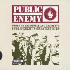 CDs de Música: PUBLIC ENEMY - POWER TO THE PEOPLE AND THE BEATS (18 TEMAS SLIDEPAK) (PRECINTADO). Lote 229317065