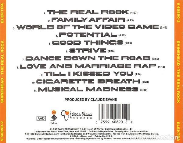 CDs de Música: The Real Rock - Shinehead - Foto 2 - 229328135