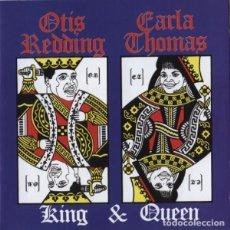CDs de Música: OTIS REDDING & CARLA THOMAS - KING & QUEEN. Lote 229391115