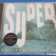 CDs de Música: CD / ADRIANO CELENTANO / SUPER BEST / CLAN CELENTANO – 4509-91216-2 1992. Lote 229391390