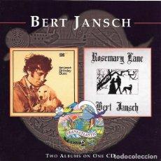 CDs de Música: BERT JANSCH - BIRTHDAY + ROSEMARY LANE. Lote 229398025