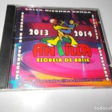 CDs de Música: ANTILLA 2013 - 2014 ESCUELA DE BAILE. Lote 229482470