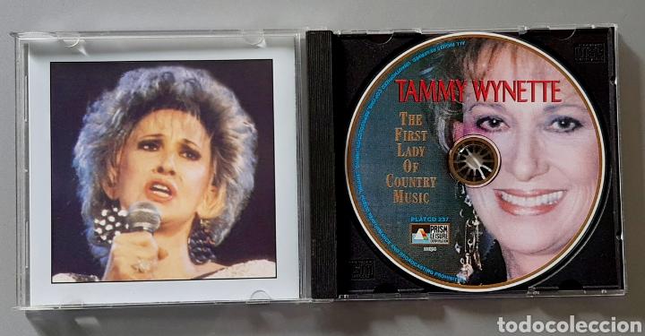 CDs de Música: CD de TAMMY WYNETTE The Greatest Hits - Live In Concert. Año 1986. - Foto 2 - 229524980