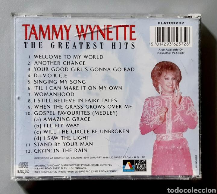 CDs de Música: CD de TAMMY WYNETTE The Greatest Hits - Live In Concert. Año 1986. - Foto 3 - 229524980