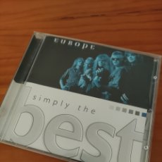 CDs de Música: CD EUROPE. SIMPLY THE BEST. Lote 229564700