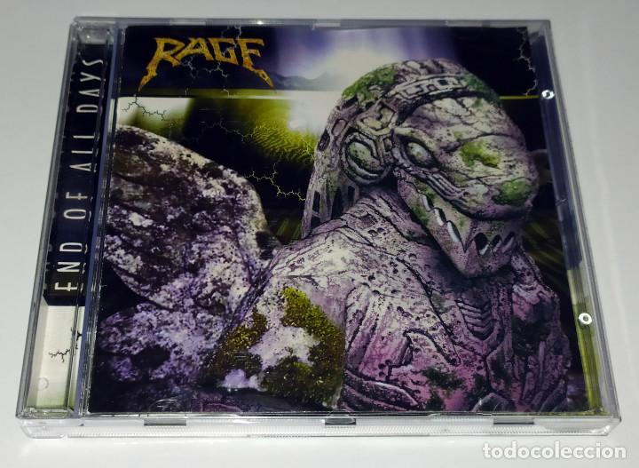CD RAGE - END OF ALL DAYS (Música - CD's Heavy Metal)