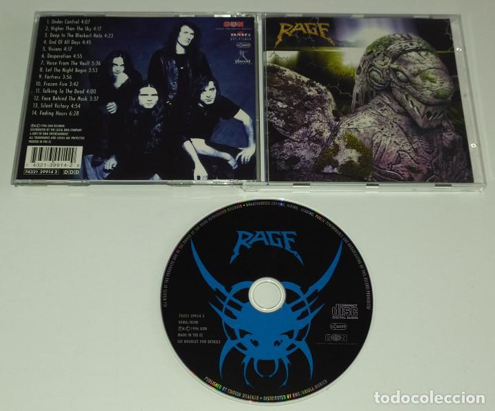 CDs de Música: CD RAGE - END OF ALL DAYS - Foto 2 - 229603380