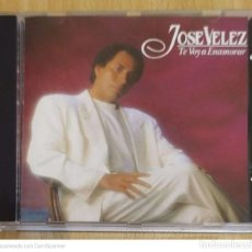 CDs de Música: JOSE VELEZ (TE VOY A ENAMORAR) CD 1991. Lote 229607065