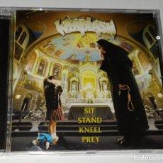 CDs de Música: CD WHIPLASH - SIT KMEEL STAND PREY. Lote 229616640