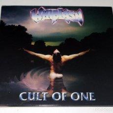 CDs de Música: CD WHIPLASH - CULT OF ONE. Lote 229616800
