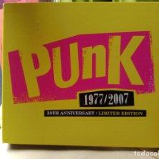 CDs de Música: PUNK 1977-2007 30 ANIVERSARIO LIMITED EDITION 3 CD.S MUY RARO. Lote 229661550