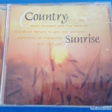 CDs de Música: CD / ANTON HUGHES, JOHN COBBIN AND MARY ANNE SLAVICH ‎– COUNTRY SUNRISE / DISKY ‎– DC 879492, 1997. Lote 229667235