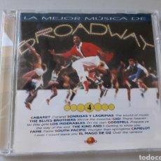 CDs de Música: LA MEJOR MÚSICA DE BROADWAY TIEMPO N 4. Lote 229669705