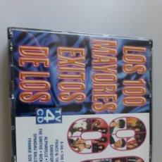 CDs de Música: LOS 100 MAYORES ÉXITOS DE LOS AÑOS 80. Lote 229675480