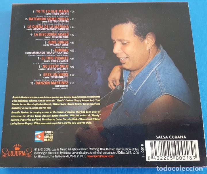 CDs de Música: CD / Arnaldo Y La Cosmopolita – En Otra Dirección / LUJURIA – L-0018, 2008 HOLANDA COMO NUEVO - Foto 2 - 229675780
