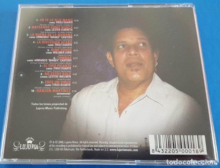 CDs de Música: CD / Arnaldo Y La Cosmopolita – En Otra Dirección / LUJURIA – L-0018, 2008 HOLANDA COMO NUEVO - Foto 4 - 229675780