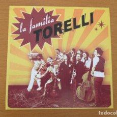 CDs de Música: LA FAMILIA TORELLI 100% TORELLI EDICIONES PAE 11 CANCIONES CON BIOGRAFÍA SKA REGGAE SOUL. Lote 229723455