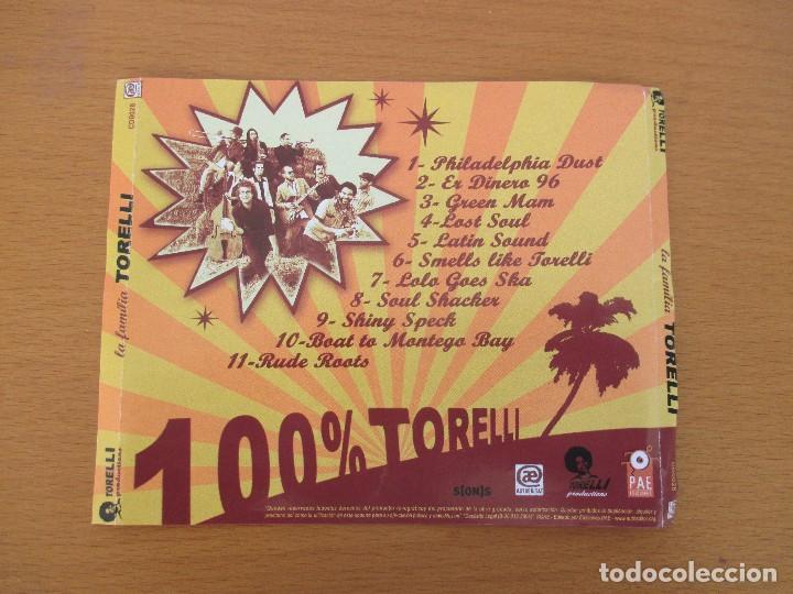 CDs de Música: LA FAMILIA TORELLI 100% TORELLI EDICIONES PAE 11 CANCIONES CON BIOGRAFÍA SKA REGGAE SOUL - Foto 2 - 229723455