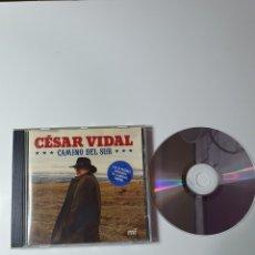 CDs de Música: LAS 20 MEJORES CANCIONES DE LA MUSICA SUREÑA, CÉSAR VIDAL, CAMINO DEL SUR, COMO NUEVO PERFECTO ESTAD. Lote 229736410