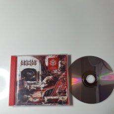 CDs de Música: DEICIDE-OVERTURES OF BLASPHEMY, CENTURY MEDIA 19075861892, ALEMANIA 2018. COMO NUEVO PERFECTO ESTADO. Lote 229763740