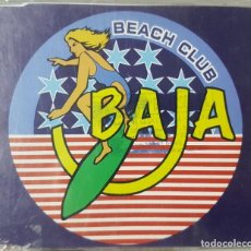 CDs de Música: CD BAJA BEACH CLUB - PROMOCIONAL DE RADIO - SIGUE AL LIDER + 2 - SURF. Lote 229770555