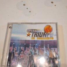 CDs de Música: G-59 CD MUSICA - ACADEMIA OPERACIÓN TRIUNFO – OPERACIÓN TRIUNFO EN CONCIERTO. Lote 229772580