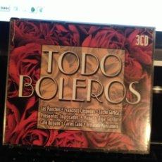 CDs de Música: TODO BOLEROS TRIPLE CD. Lote 229775880