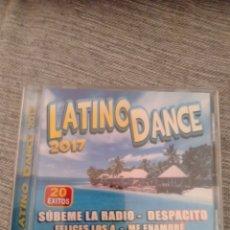 "CDs de Música: LATINO DANCE 2017 "" VARIOS "". Lote 229791275"