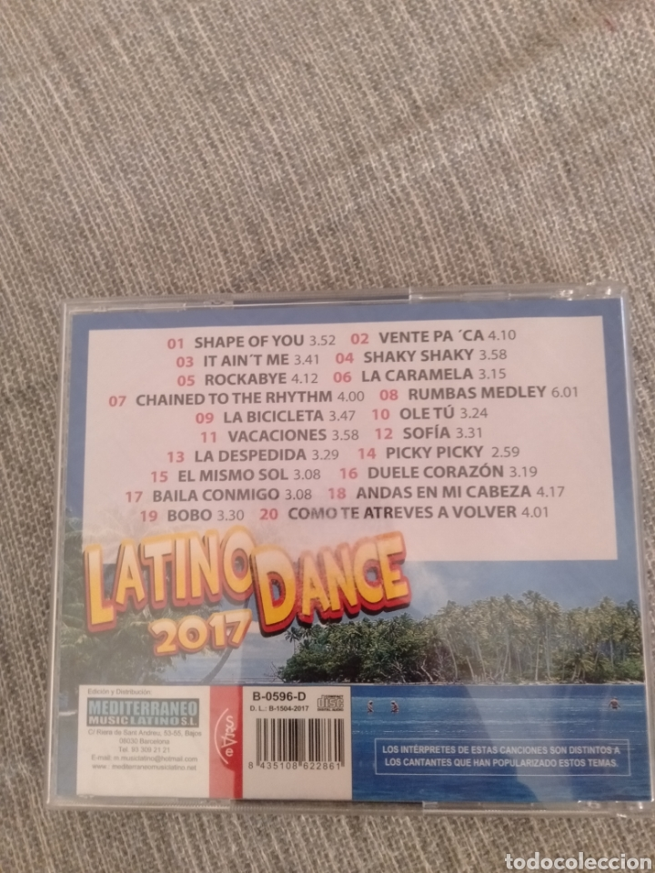 "CDs de Música: Latino Dance "" Varios"" - Foto 2 - 229791385"