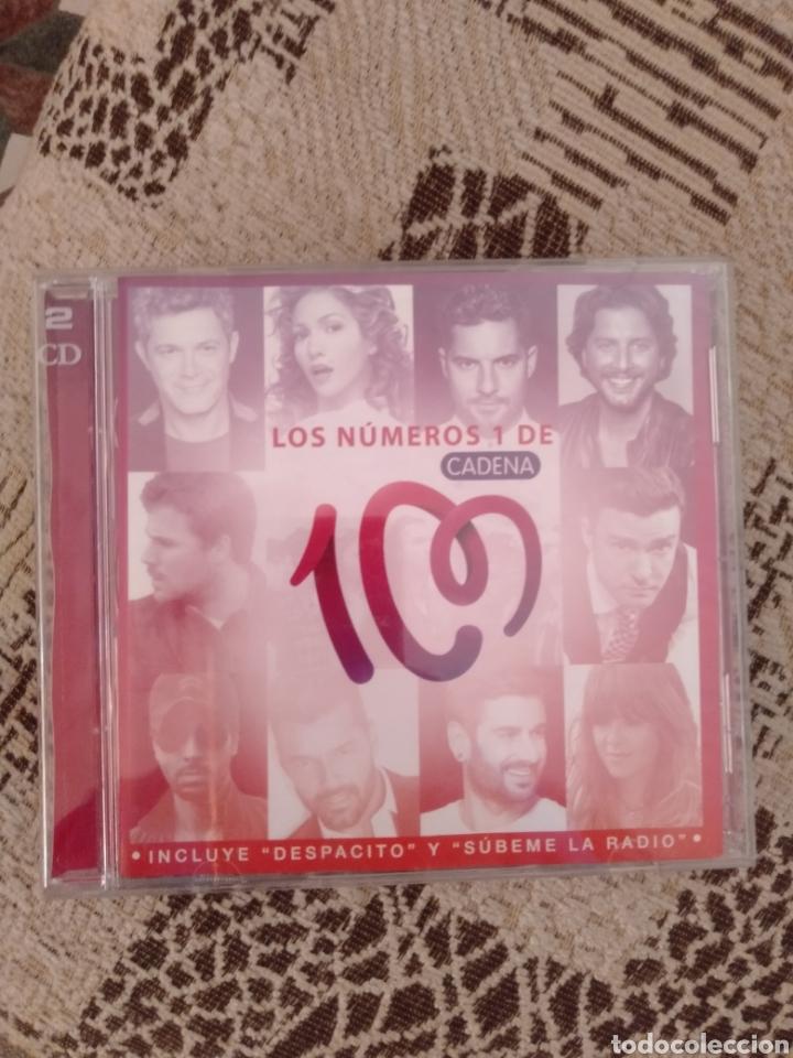 """LOS NÚMEROS 1 DE CADENA 100 """" VARIOS """" (Música - CD's Latina)"""