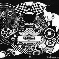 CDs de Música: LE CLUB - 2007. Lote 229793315