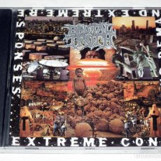 CDs de Música: CD BRUTAL TRUTH - EXTREME CONDITIONS DEMANDS EXTREME RESPONSES. Lote 229819650