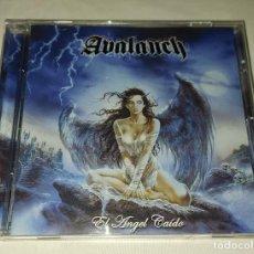 CDs de Música: CD AVALANCH - EL ÁNGEL CAÍDO. Lote 229826680